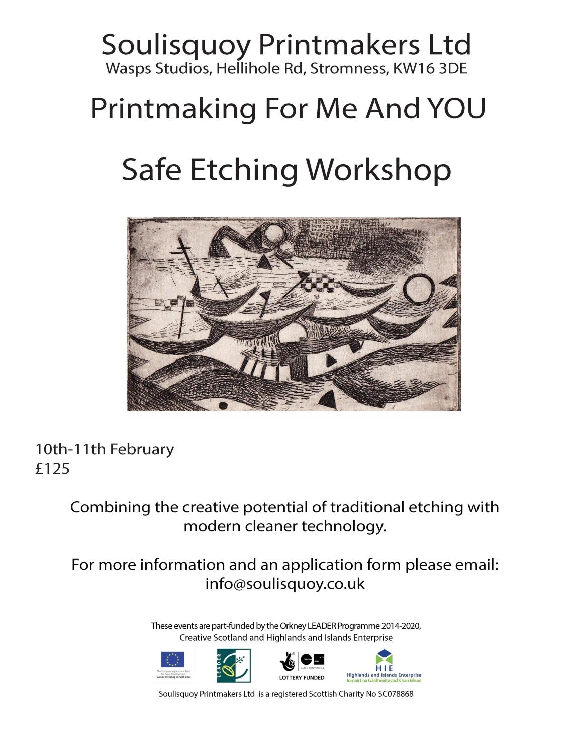 Safe Etching Workshop